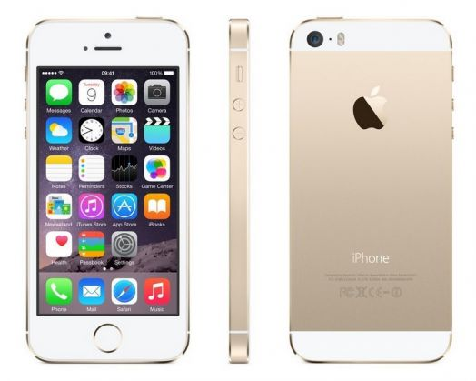 Apple iPhone 5S 16GB золотой