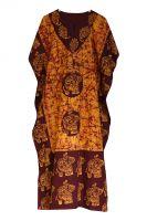 Безразмерное индийское платье