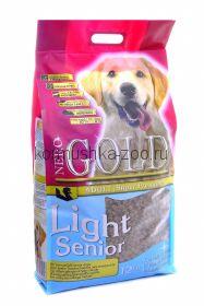NERO GOLD super premium для пожилых собак с индейкой и рисом