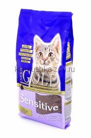 NERO GOLD super premium для кошек с чувствительным пищеварением на ягненке