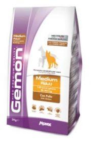 Gemon Dog Medium корм для взрослых собак средних пород ягненок с рисом  15 кг