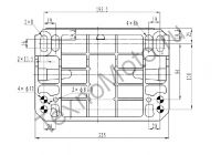 Zongshen ZS GB680FE (680 куб. см) бензиновый двигатель с двумя цилиндрами мощностью 24 л. с., электростартером и воздушным охлаждением, диаметр вала 25,4 мм.