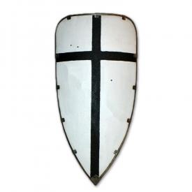 Щит треугольный большой с металлическим кантом.