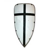 Щит треугольный большой с металлическим кантом