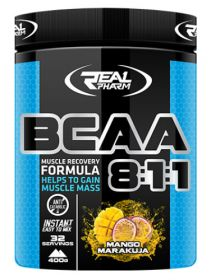 BCAA 8:1:1 Instant от Real Pharm (400 гр)