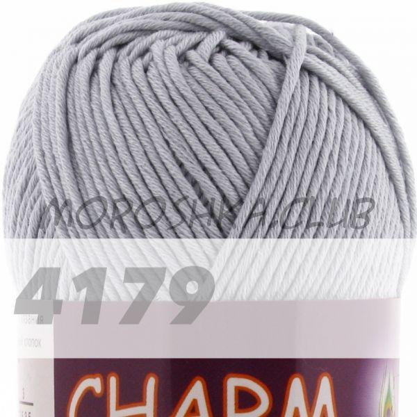 Серебро Сharm VITA cotton (цвет 4179), упаковка 10 мотков