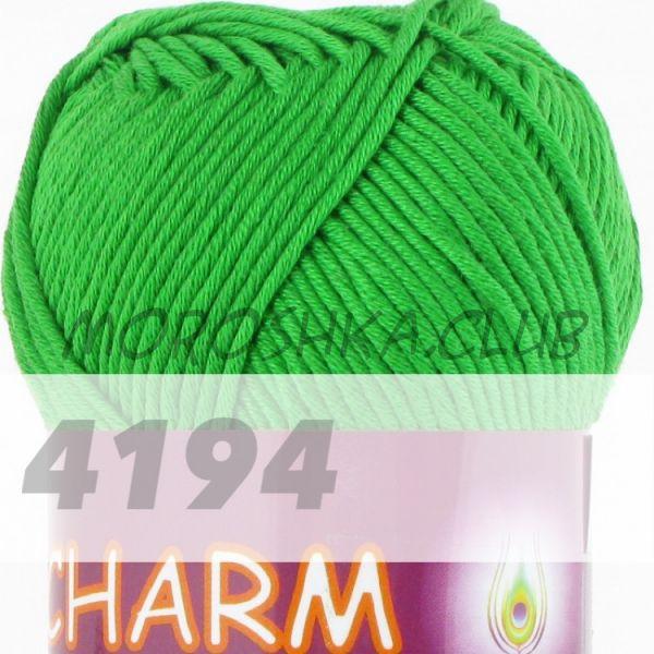 Зелёный Сharm VITA cotton (цвет 4194), упаковка 10 мотков