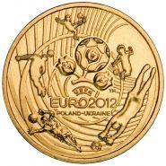 Польша 2 злотых 2012 Чемпионат Европы по футболу Ni