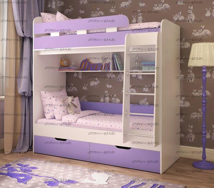 Кровать двухъярусная Юниор-5