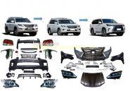 Комплект рестайлинга Lexus LX 2008 в Lexus LX 2016 -