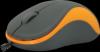 Проводная оптическая мышь Accura MS-970 серый+оранжевый,3кнопки,1000