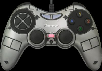 Проводной геймпад Zoom USB Xinput, 10 кнопок, 2 стика