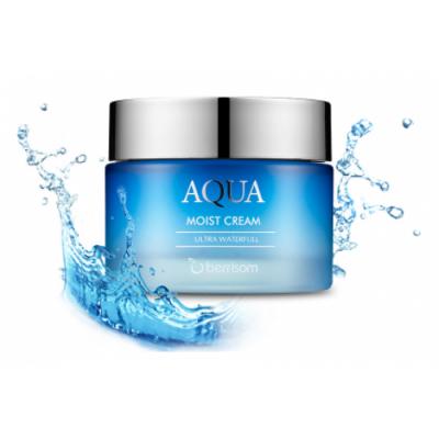 Корейский крем для лица увлажняющий BERRISOM Aqua Moist Cream
