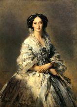 Портрет императрицы Марии Александровны (Репродукция Винтерхальтера)