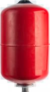 Расширительный бак на отопление 18 л. (цвет красный)  STOUT