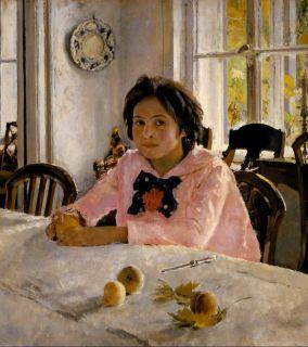 Девочка с персиками ( Репродукция Серова)