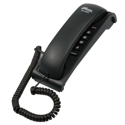Телефон RITMIX RT-007 (черный)