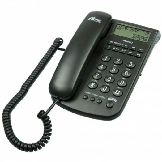 Телефон RITMIX RT-440 (черный)