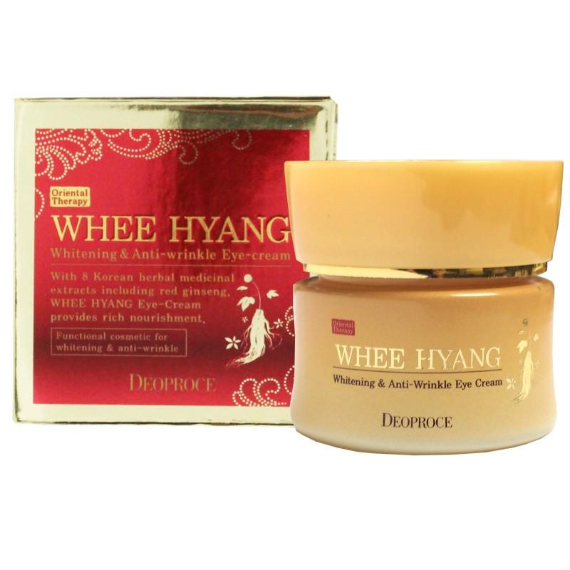 Корейский крем для лица антивозрастной WHEE HYANG ANTI-WRINKLE CREAM 50ml