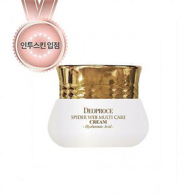 Корейский крем для глаз с протеинами паутины DEOPROCE SPIDER WEB Multi-care Eye Cream