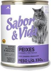 Sabor & Vida консервированный корм для кошек Рыба 290г