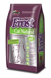 SUPRA FROST Cat Natural для взрослых кошек 1 кг