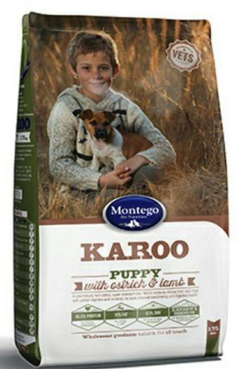 MONTEGO KAROO для щенков 8 кг