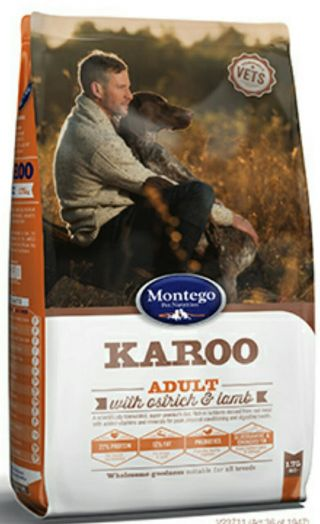 MONTEGO KAROO для взрослых собак 8 кг