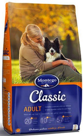 MONTEGO Classic для взрослых собак 10 кг