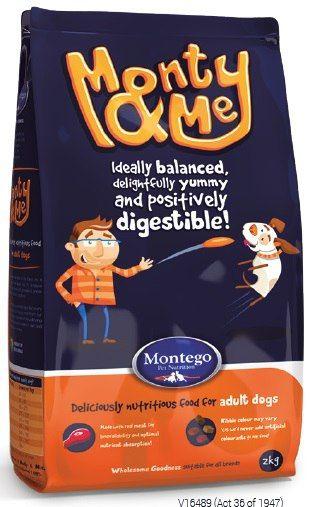 MONTEGO Monty&Me Для взрослых собак всех пород 2 кг