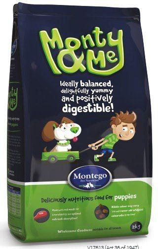 MONTEGO Monty&Me Для щенков всех пород 2 кг