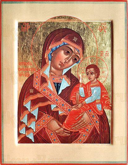 Шуйская Смоленская икона БМ (рукописная на заказ)