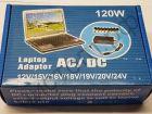 Адаптер универс. для зарядки ноутбуков с 8 переходниками ( 120W ) сетевой лм427