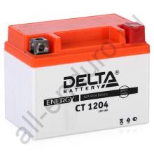 DELTA  CT 1204 YTX4L-BS (112 х 68 х 88)