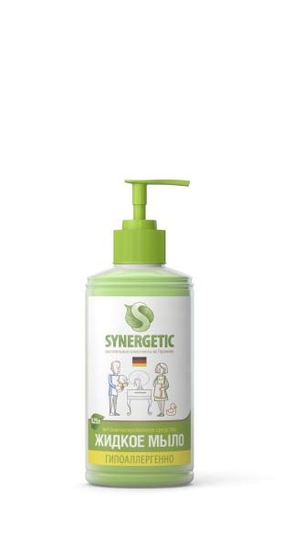Synergetic Мыло жидкое для мытья рук, дозатор,  250 мл,