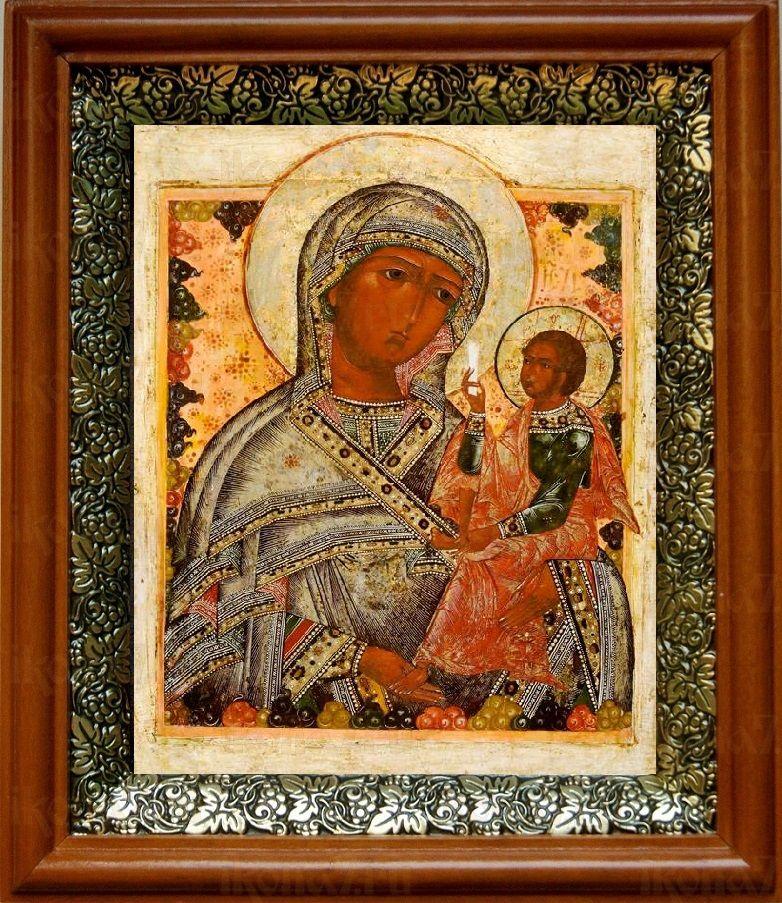 Шуйская Смоленская (19х22), светлый киот