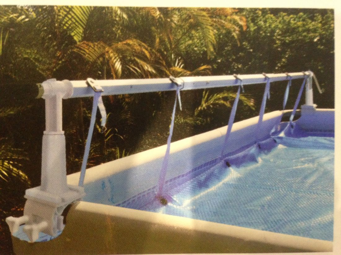 Наматывающее устройство SOLARIS II струбками для наземных бассейнов