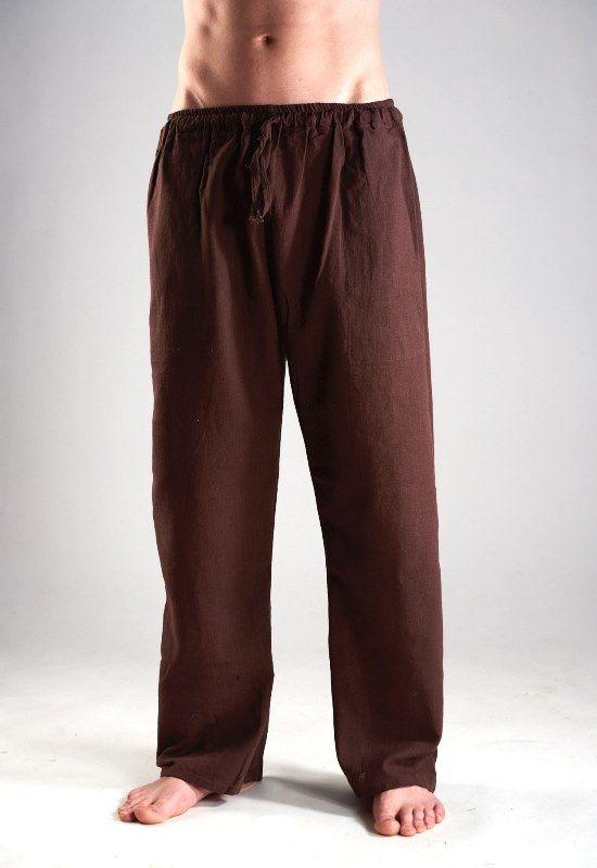 Прямые штаны из органического хлопка (Москва)