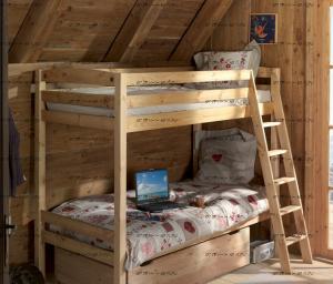 Кровать двухъярусная Кадет-3 с ящиками