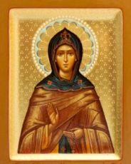 Александра Дивеевская (рукописная икона)