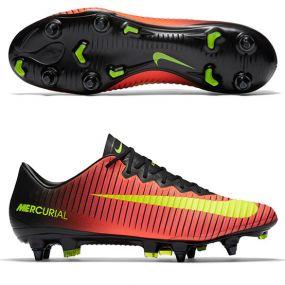 Бутсы Nike Mercurial Vapor XI SG-PRO оранжевые