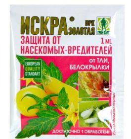 «Искра Золотая» защита от насекомых-вредителей 1мл.