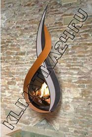 Газовый камин INFIRE WALL FLAME