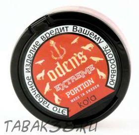 Табак жевательный Chew Bags Odens Kola  Extreme  Portion 20г