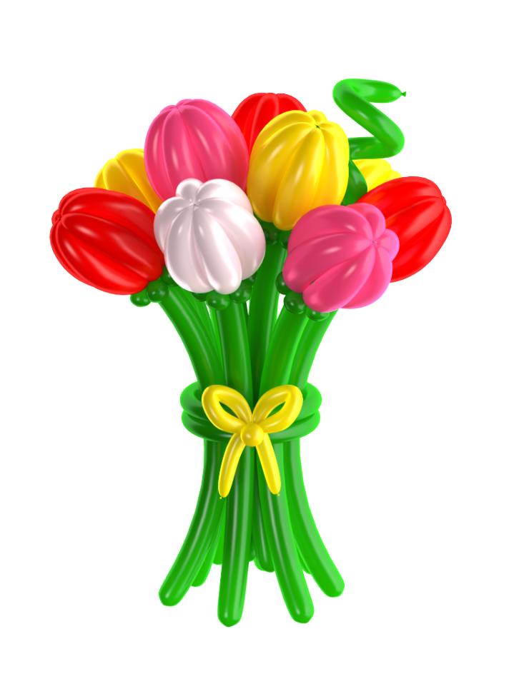 Тюльпаны (100см)