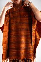Купить теплое индийское пончо с бесплатной доставкой