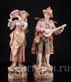 Пара, Royal Dux, Богемия, нач.20 в