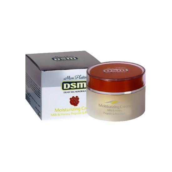 Увлажняющий крем молоко и мёд, прополис и пчелиное молочко Mon Platin DSM (Мон Платин ДСМ) 50 мл