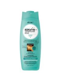 KERATIN+ термальная вода ШАМПУНЬ для всех типов волос 500 мл.