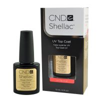 CND shellac Top coat/Топ гель лак, 15 мл